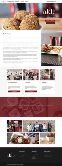 Site web sur mesure Aklé Lyon