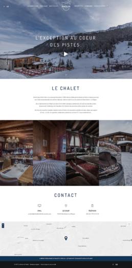 Site web sur mesure Le Chalet du Friolin