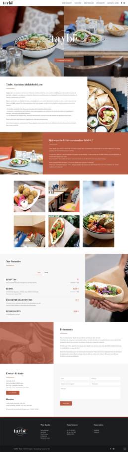 Site web sur mesure Taybé Lyon